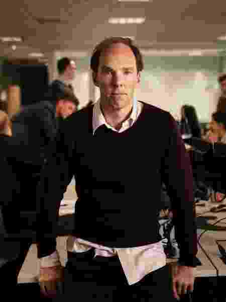 """Benedict Cumberbacth interpreta o estrategista político Dominic Cummings no filme """"Brexit"""", da HBO - Divulgação - Divulgação"""