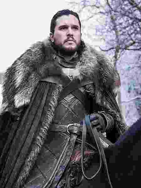 """Jon Snow (Kit Harington) em cena da última temporada de """"Game of Thrones"""" - Divulgação"""