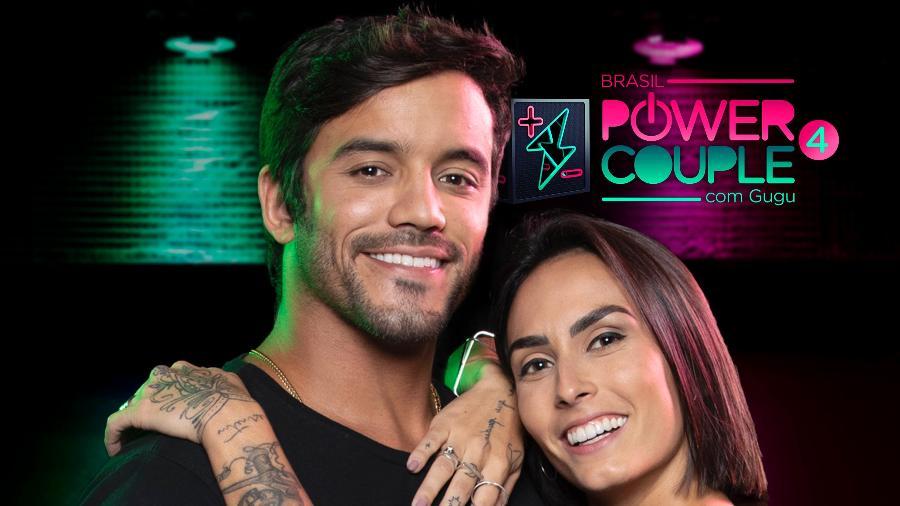 O casal Clara Maia e André Coelho  - Edu Moraes/TV Record