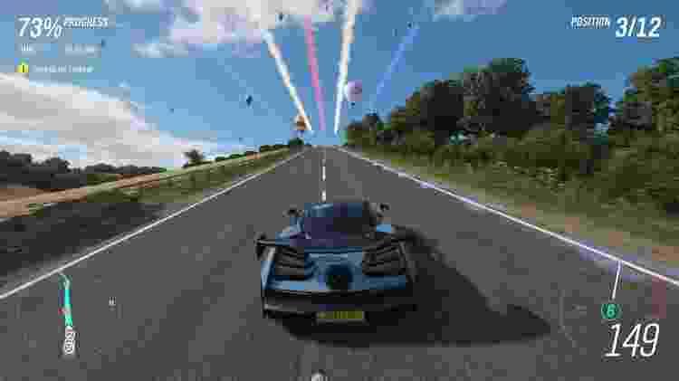 Forza Horizon 4 tem um loading inicial mais demorado para agilizar as transições quando você está no mundo aberto - Divulgação
