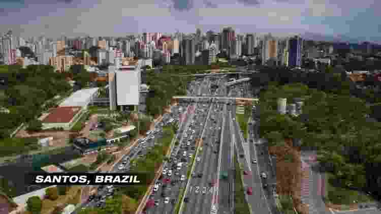 Netflix exibe imagens da cidade de São Paulo como se fossem de Santos - Reprodução