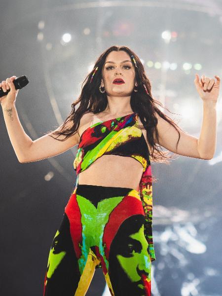 Jessie J se apresenta no palco Sunset no Rock in Rio 2019 - Wesley Allen/Divulgação