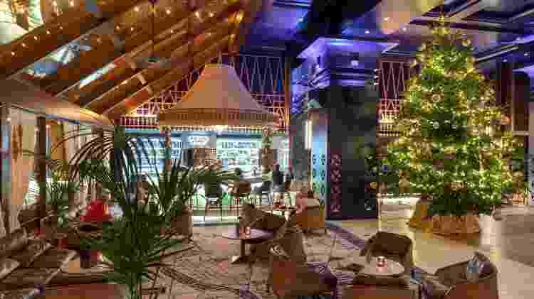 Saguão do Kempinski Hotel Bahía, na Espanha - Divulgação - Divulgação