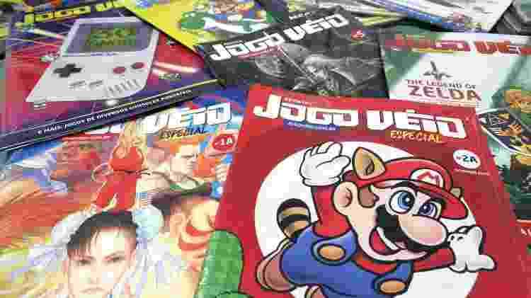Com base em financiamento coletivo, a revista Jogo Véio se dedica a cobrir jogos dos anos 80 e 90 - Divulgação