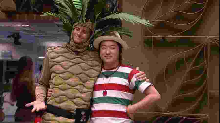 BBBB 20 - Daniel e Pyong foram os escolhidos para castigo do monstro - Reprodução/Globoplay