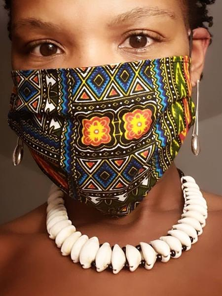 Projeto da Afro Máscaras oferece solução para mulheres negras enfrentarem crise financeira durante a pandemia - Divulgação