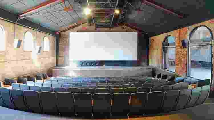 Imagem da sala da Cinemateca Brasileira - Reprodução - Reprodução