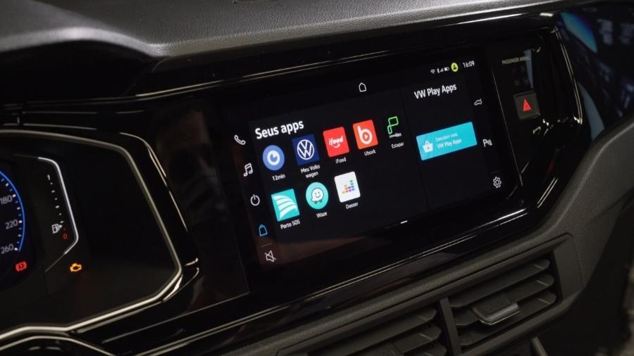 VW Play, central multimídia do Nivus - Divulgação