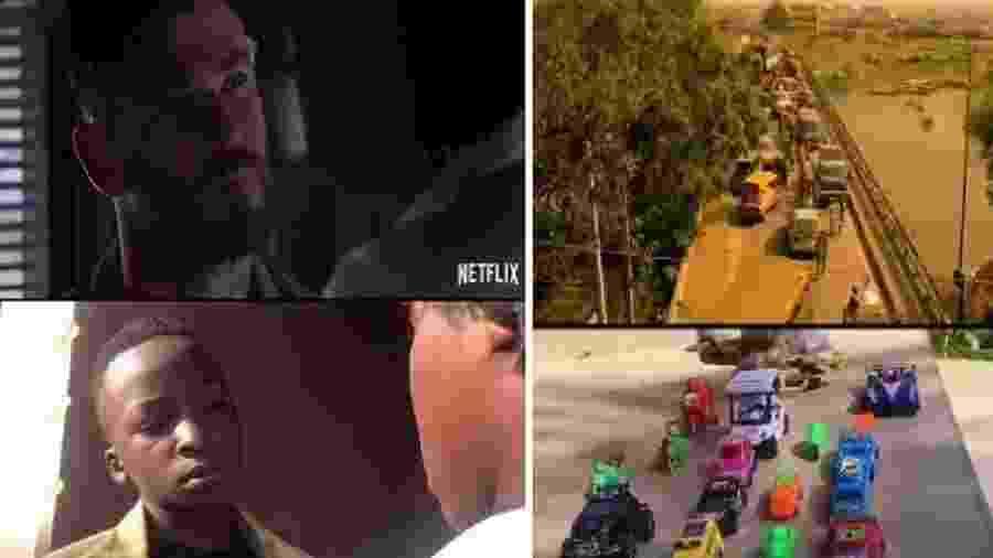 """Ikorodu Bois recriam trailer de """"Resgate"""" - Reprodução"""