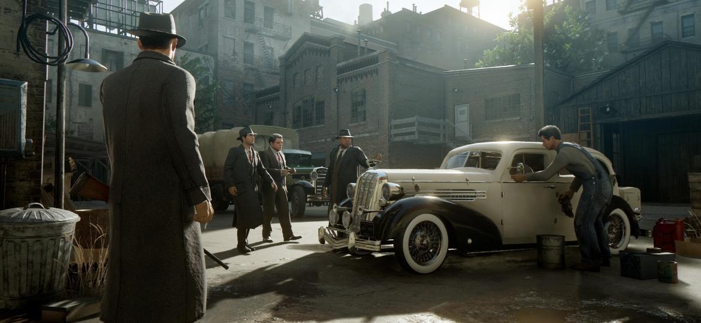Mafia conta a história de duas famílias mafiosas lutando pelo controle da cidade fictícia de Lost Heaven - Divulgação/2K