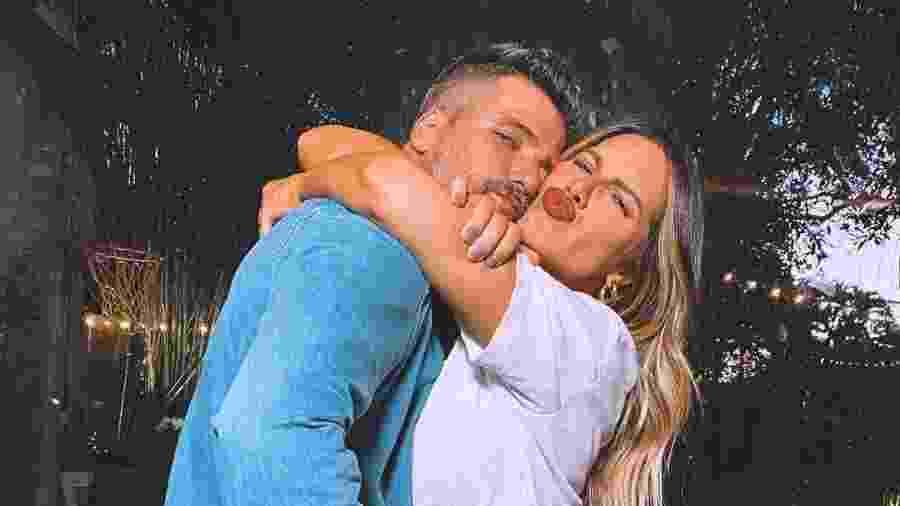 Bruno Gagliasso e a mulher, Giovanna Ewbank - Reprodução/Instagram @gioewbank