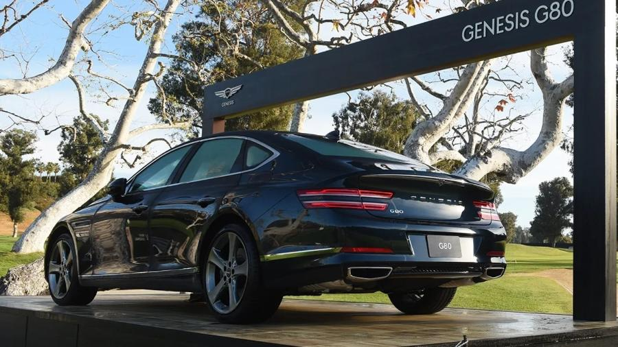 Genesis G80 - Divulgação