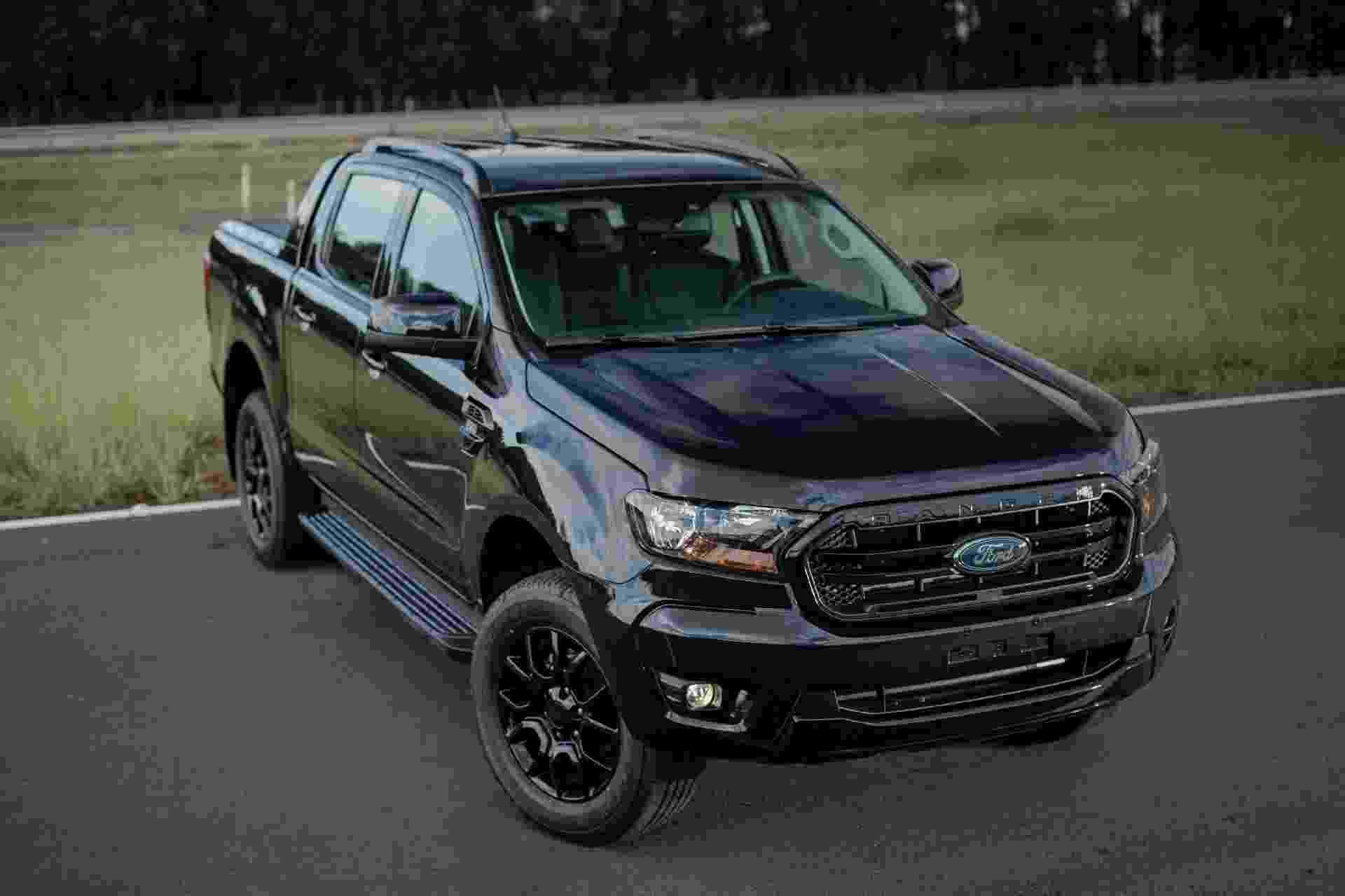 Ford Ranger Black 2022 - Divulgação