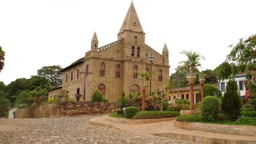 Igreja Matriz de Santo Antônio, em Grão Mogol - Divulgação/Iepha MG