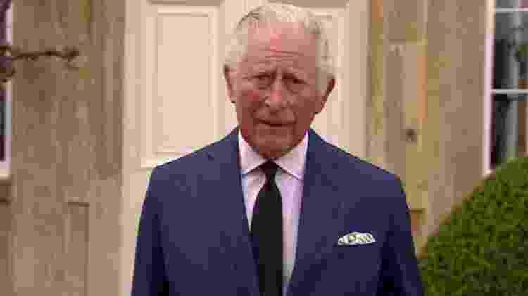 """O príncipe Charles disse que ele e sua família estavam """"profundamente gratos"""" pelas homenagens. - BBC - BBC"""