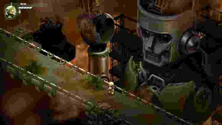 Game Brasileiro Retro Machina - Reprodução/START - Reprodução/START
