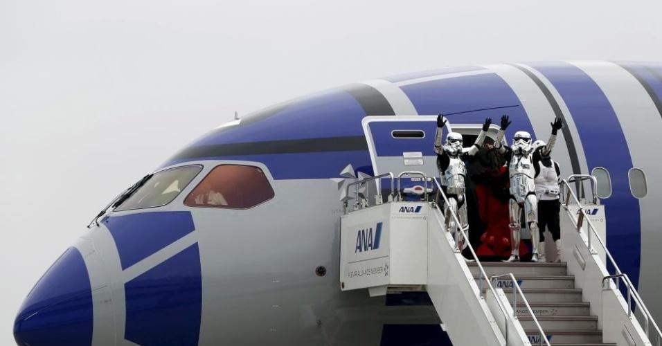 Visual do Boeing 787 Dreamliner foi totalmente inspirado em R2-D2