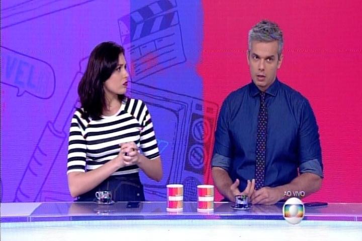 Otaviano Costa confunde Maitê Proença com Bruna Lombardi