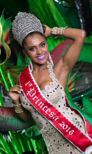 Tarine é integrante do grupo Rainhas do Funk desde 2012 ao lado de outras quatro musas do Carnaval de São Paulo