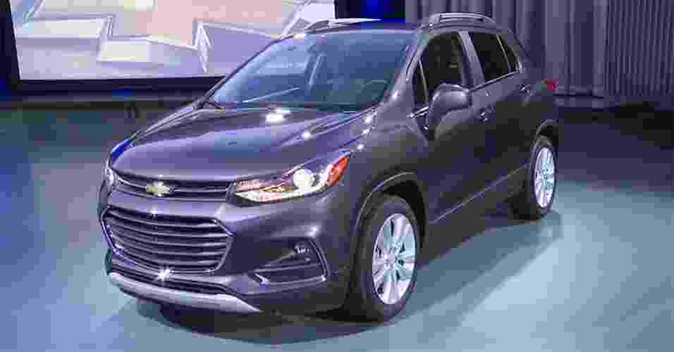 Chevrolet Tracker 2017 - Reprodução