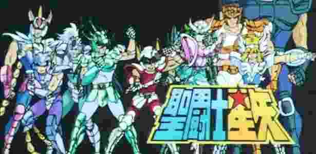 Seiya, Hyoga, Shun, Shiryu e Ikki retornarão às lojas brasileiras em alta definição - Reprodução/Toei Animation
