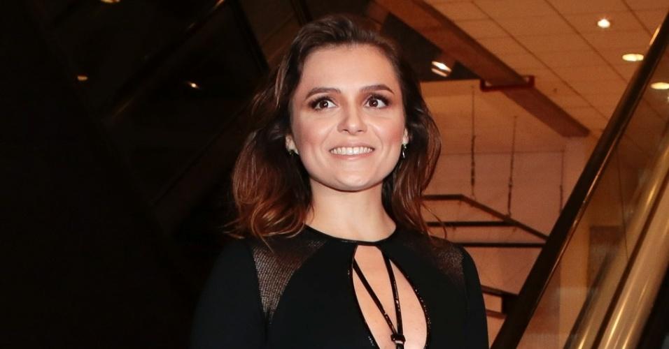 15.mar.2016 - Mônica Iozzi foi escolhida a melhor apresentadora na categoria Televisão no prêmio da APCA (Associação Paulista de Críticos de Artes)