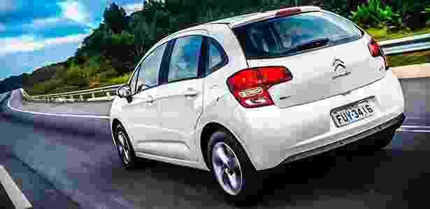 C3 com motor 1.2 promete fazer 16,6 km/l na estrada com gasolina, índice abaixo apenas do coirmão 208 entre os modelos movidos a combustão avaliados pelo Inmetro  - Divulgação