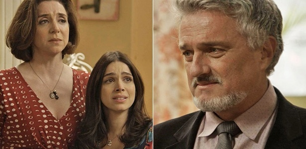 """Em """"Haja Coração"""", Shirlei fica chocada ao saber que o padrasto de Felipe é seu pai - Reprodução/Gshow"""
