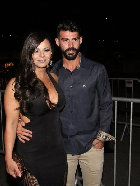 Viviane Araújo e Radamés se separaram há cinco meses - Fábio Moreno, Wallace Barbosa e Marcello Sá Barretto / AgNews