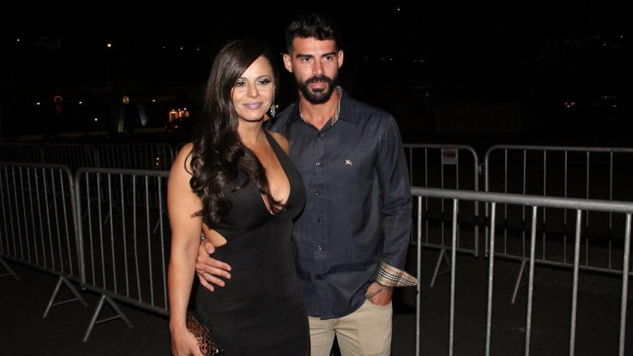 Viviane Araújo e Radamés terminam noivado após dez anos de relacionamento - Fábio Moreno, Wallace Barbosa e Marcello Sá Barretto / AgNews