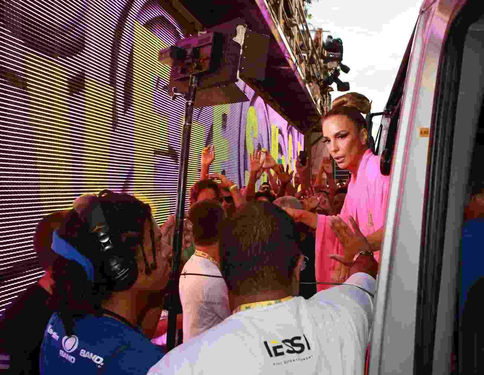 Ivete Sangalo chega para comandar trio no Circuito Barra-Ondina, no Carnaval de Salvador - Dilson SIlva/AgNews