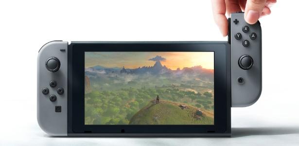 O novo videogame da Nintendo começou sua caminhada com o pé direito - Divulgação/Nintendo