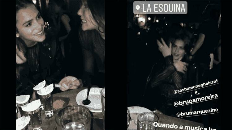 Marquezine e Sasha - Reprodução/Instagram - Reprodução/Instagram