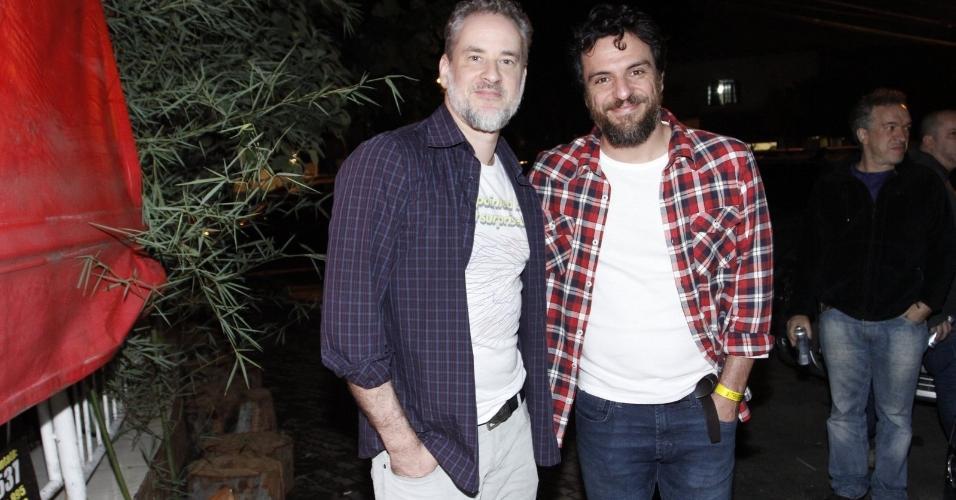 Dan Stulbach e Rodrigo Lombardi
