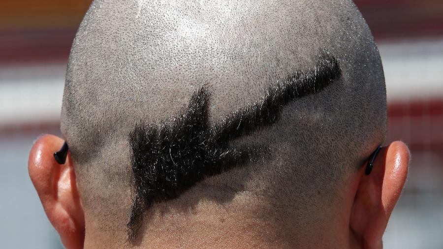 Corte especial no cabelo para garantir o sucesso no Rock in Rio - Marco Antonio Teixeira/ UOL