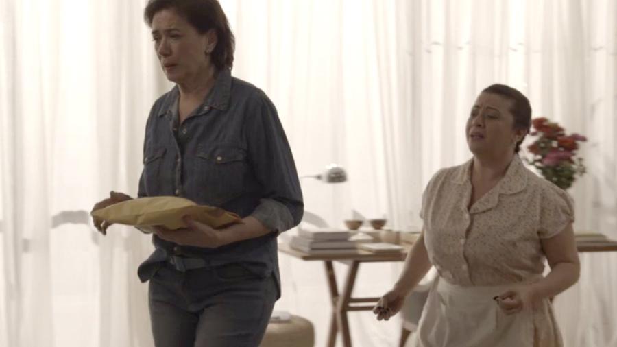 """Silvana decide gastar dinheiro de Bibi em """"A Força do Querer"""" - Reprodução/TV Globo"""