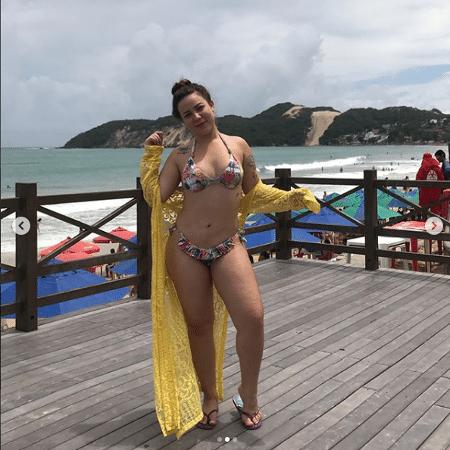 Maria Cláudia, a Cacau, arrasa de biquíni - Reprodução/Instagram/claudiiaoficial