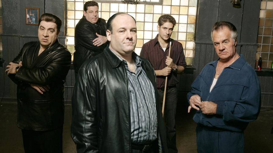 """A série """"Os Sopranos"""" - Reprodução"""