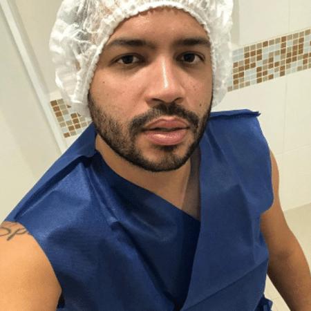 Projota no hospital - Reprodução/Instagram/projota