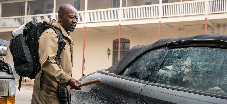 """Morgan (Lennie James) em cena de """"Fear the Walking Dead"""", a série derivada de """"The Walking Dead"""" - Divulgação"""