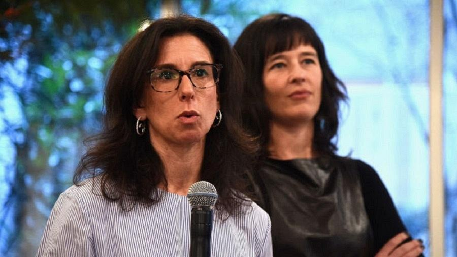 As jornalistas Jodi Kantor (à esquerda) e Megan Twohey, que denunciaram casos de assédio em Hollywood - g