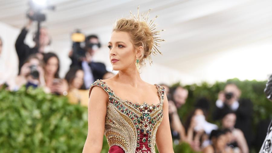 A atriz Blake Lively - Getty Images