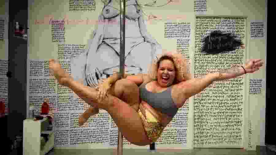 Daylane Cerqueira fez as pazes com o corpo dançando depois de engordar  - Arquivo pessoal