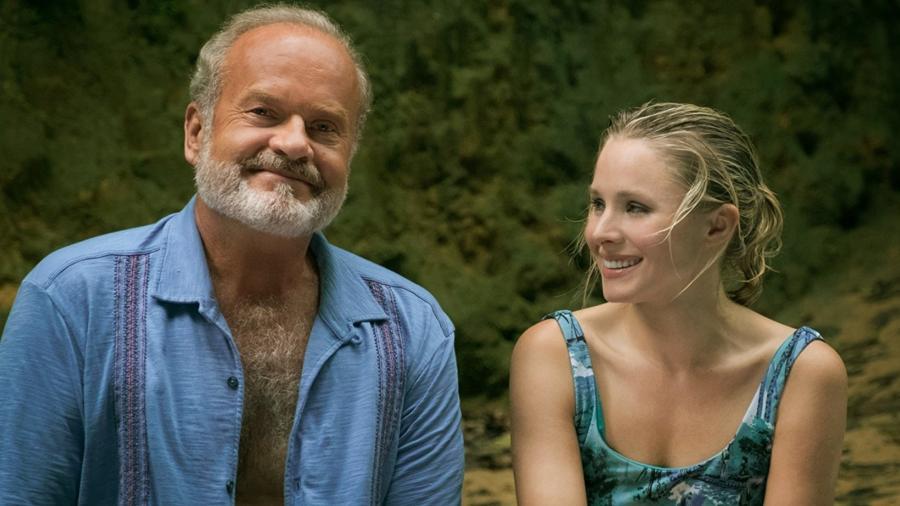 "Kelsey Grammer e Kristen Bell em ""Like Father"" - Reprodução"