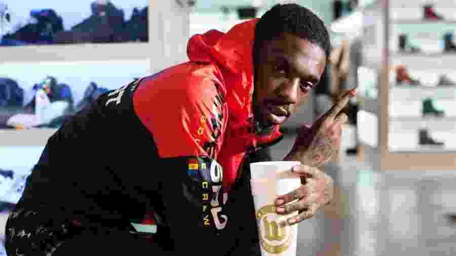 O rapper Jimmy Wopo - Reprodução