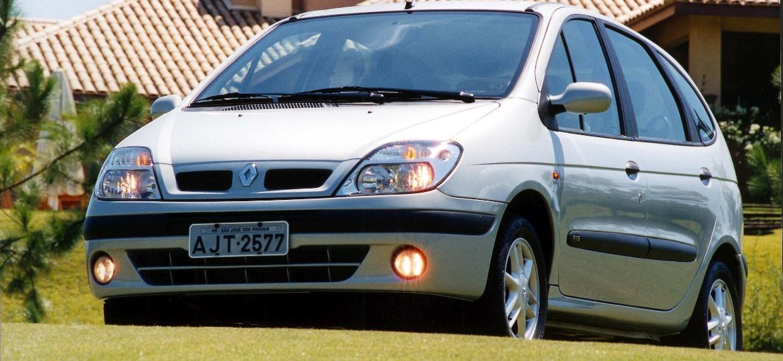 Minivans como a Renault Scènic já foram desejadas pelos brasileiros - Divulgação