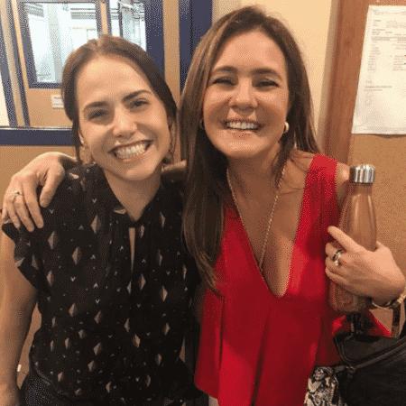 Leticia Colin e Adriana Esteves - Reprodução/Instagram