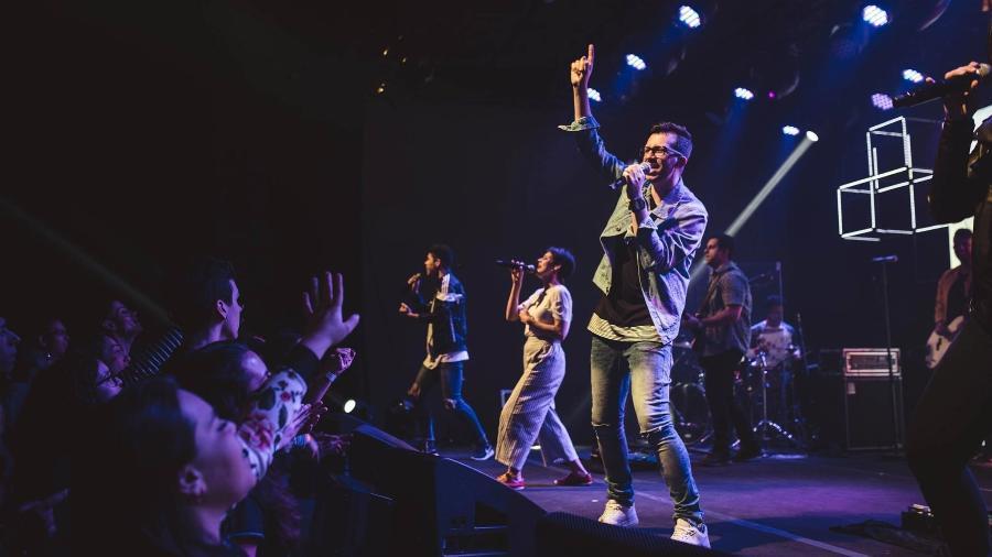 Reunião na Hillsong, em São Paulo: cultos evangélicos que atraem milhares de jovens brasileiros - Reprodução/Facebook/Hillsong São Paulo