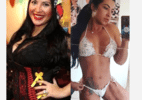 Ex-BBB Priscila mostra antes e depois de perder 35kg: