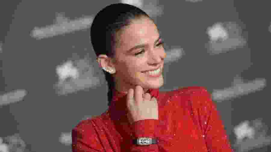 Bruna Marquezine é luxo puro em sua passagem por Veneza - Antony Jones/Getty Images